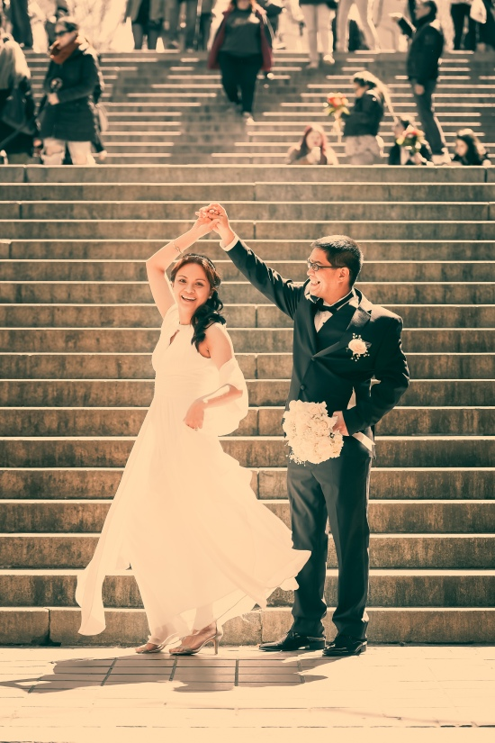 Wedding Dance at Bethesda Terrace