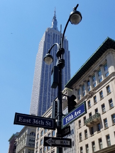 Empire State Building at 5th Avenue