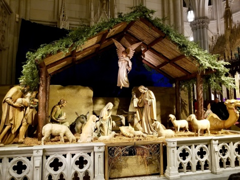 St. Patrick's Cathedral Nativity Scene